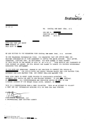 Legal Settlement Letter list of successful debt negotiation with capital one