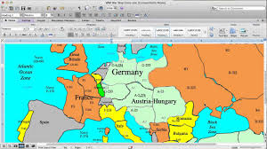 World War One Map by World War One Simulation Lesson Plan Mobilization Youtube