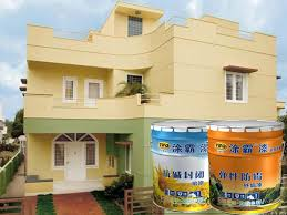 tuba elastic resistance exterior wall paint low temperature