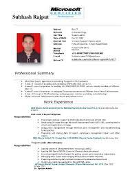 Best Vmware Resume by Resume