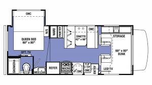 sle floor plan 2018 forest river sunseeker le 2250s ford class c motorhome
