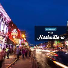 Nashville On Map The Nashville 10 Serious Eats