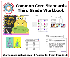 third grade common core workbook download