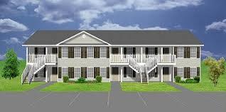 8 unit apartment building plans apartment plan j891 6 6 units