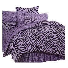 zebra lavender complete bedding set kimlor mills inc