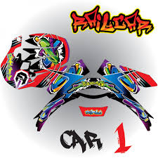 shoei motocross helmets helmet graphic kit shoei rail car armored graphix