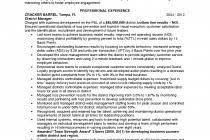 Sample District Manager Resume district manager responsibilities resume
