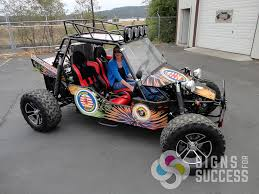 buggy design dune buggy wrap from design to install signs for success