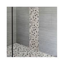 White Pebble Tiles Bathroom - 545 best bathroom pebble tile and stone tile ideas images on