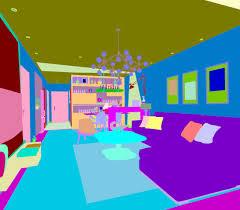 3d max balcony family living room restaurant design
