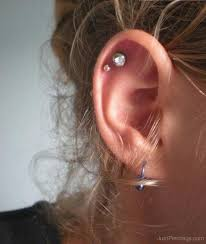 diamond helix stud unique diamond cartilage earrings allezgisele diamonds