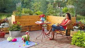 How To Lay A Raised Patio Patio Planter