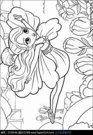 barbie fairy coloring pages love color fairy