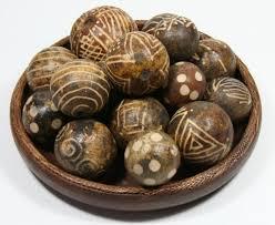 vintage gourd monkey balls decorative balls large