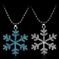 new year jewelry new year christmas gift fashion luxury shiny rhinestone snowflake