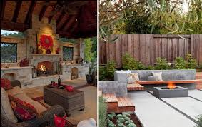 backyard inspiration backyard inspiration keep warm this fall with decorative fire pits