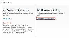 email signatures u2013 bettercloud help center
