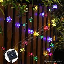 Solar Powered Patio Lights String 2017 New 4 8m 20leds String Lights Solar Power Energy Saving