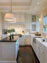 kitchens with different colored islands black granite kitchen island foter
