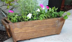 Wooden Window Flower Boxes - zero scrap planter box from a single board the kim six fix