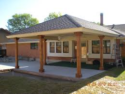 Patio House Wonderful Attached Patio Cover Plans Construction Using Corrugated