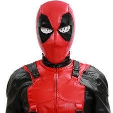 Deadpool Halloween Costume Deadpool Mask Sale Men Cosplay Cool Deadpool Red Pvc