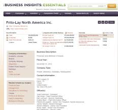 Additional Information Examples Database Search Examples Mkt 3840 Professional Selling Guides