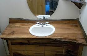 bathroom countertop ideas wood bathroom countertop unispa club