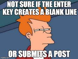 Blank Fry Meme - what happens when i use social media imgflip