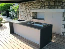 cuisines ext駻ieures meuble cuisine exterieure bois cuisine exterieur bois conception