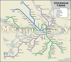 Metro Bus Route Map by Stockholm Metro U2014 Map Lines Route Hours Tickets