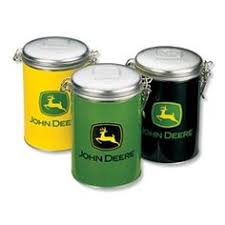 deere kitchen canisters deere salt and pepper shakers to my from my boys