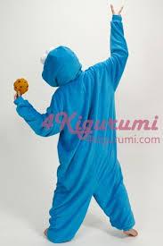 Cookie Monster Halloween Costume Adults Sesame Street Cookie Monster Kigurumi Onesie 4kigurumi