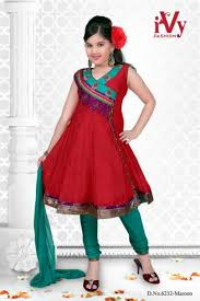 trade india beautiful anarkali kids wear summer frocks collection