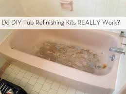 bathtub refinishing kit guide diy bathroom update curbly