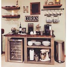 Hutch Bar And Kitchen Diy Coffee Wine Bar Yes Dining Room Tutorials Pinterest