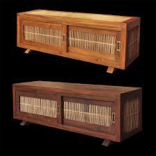 meubles en teck massif meuble de télévision classique en bois massif en teck en