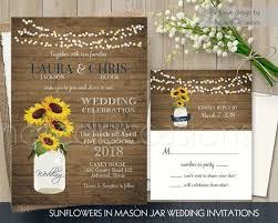 Sunflower Wedding Invitations 36 Best Sunflower Wedding Invitations Unique And Creative Rustic