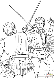 romeo and juliet duel scene coloring page free printable