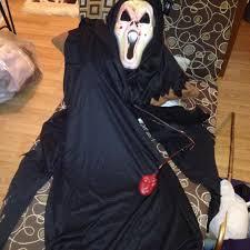 Fake Blood Halloween Costume Scream Costume Mask Fake Blood Pumps Sale