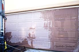 garage door makeover before photo 1garage paint colors uk ideas