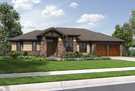 craftsman one story ranch house plans hahnow