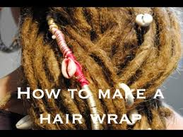 hippie hair wraps how to make a creative dreadlock wrap hair wrap dreadlock