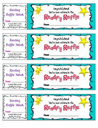 raffle tickets reading raffle tickets reading incentive by corinne35 tpt