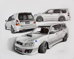subaru forester brams yeti sled by mipo design on deviantart