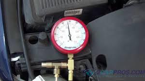 lexus v8 fuel pump for sale fuel pump pressure and regulator test youtube