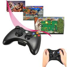 usb wireless game remote console joystick controller 8m for pc
