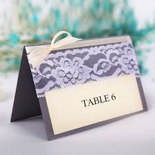 Placecards Vintage Lace Wedding Place Cards Table Numbers Ewpc008 As Low As