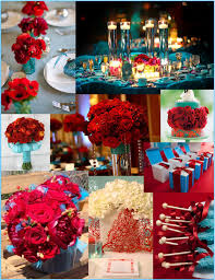 turquoise and red wedding red wedding ideas pretty peacock