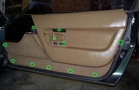 1987 corvette door panels 1990 1996 corvette inner door panel locations